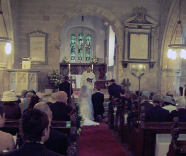 Getting married at St Leonard's Church, Beoley, Church Hill and Abbey Park