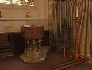 The Font at St Stephen's